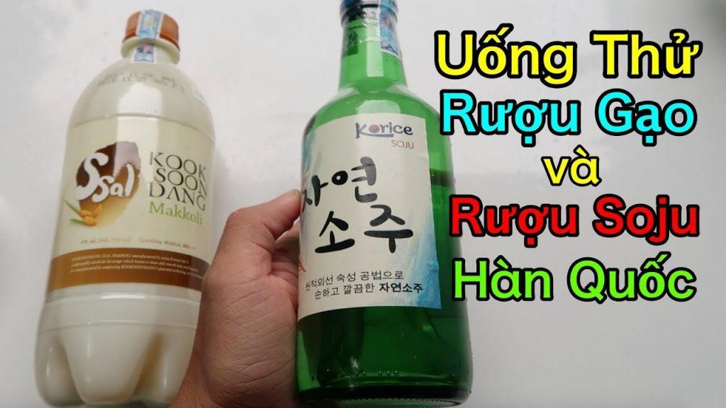 Du lịch Hàn Quốc thưởng thức hương vị thơm ngon của rượu Soju